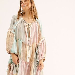 Free People in the moment sunset dress